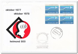 Nederland 1978, Gewestdag 800 Jaar Helmond, HBC-Ballonrace, Afstempeling Mierlo - Luchtpost