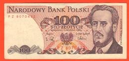 Polonia Polska Poland 100 Zloty 1988 Ludwik Warynski PROLETARYAT - Polonia