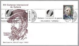 CERT.INTERN. FRANCISCO TARREGA 1982, Benicassim, Castellon - Musik