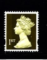 GREAT BRITAIN - 1997  MACHIN  1st CLASS  GOLD   MINT NH - 1952-.... (Elizabeth II)