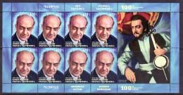 Armenien / Armenie / Armenia 2018, 100th Anniversary Of Babken Nersisian (1917-1986),Armenian Actor, MS - MNH ** - Armenia