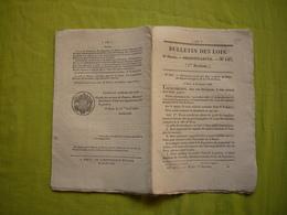 Bulletin Des Lois N° 147 1832 Relatif Au Corps Des Sapeurs Pompiers  Ville De Paris - Décrets & Lois
