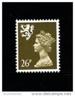 GREAT BRITAIN - 1990  SCOTLAND  26 P.  MINT NH   SG  S73 - Regionali