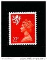 GREAT BRITAIN - 1990  SCOTLAND  22 P.  MINT NH   SG  S66 - Regionali