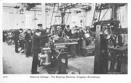 OSBORNE COLLEGE - THE SHAPING MACHINE, KINGSON WORKSHOPS - Angleterre