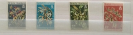 British Honduras  QE2  1970 Orchids And Hardwood Sets Mnh - British Honduras (...-1970)