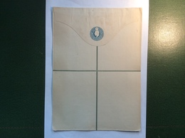 Lagos (Nigeria) ~1902 2d Postal Stationery REGISTRATION Envelope (entier Postal Lettre Cover) - Nigeria (...-1960)