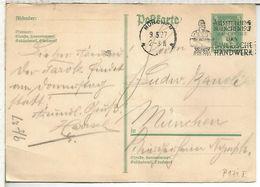 ALEMANIA 1927 MUNCHEN MAT AUSSTELLUNG BAYERISCHE HANDWERK ARTESANIA - Deutschland