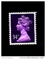 GREAT BRITAIN - 1991  MACHIN  34p. ACP  MINT NH  SG X987 - 1952-.... (Elisabeth II.)