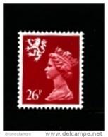 GREAT BRITAIN - 1987  SCOTLAND  26 P.  PERF.  15 X 14  MINT NH   SG  S72 - Regionali