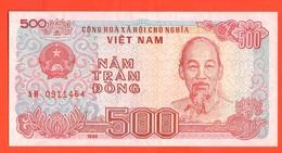 Vietnam  500 Dong 1988 - Vietnam