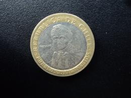 CHILI : 100 PESOS  2001 So   KM 236   SUP - Chile