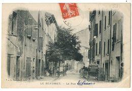 LE BEAUSSET --LA RUE NATIONALE  THIERS BELLE - Le Beausset