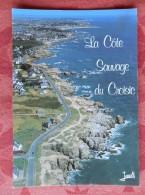 Dep 44 , Cpm  LE CROISIC , 3553 , La Cote Aux Rochers Tailladés Et Crevassés  (12.737) - Le Croisic
