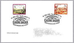 CASINO BADEN - RULETA - ROULETTE. Baden Bei Wien 1995 - Games