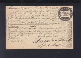 Württemberg GSK 1895 Vordruck Schuhfett - Wuerttemberg