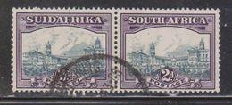 SOUTH AFRICA Scott # 36 Used Pair - Zuid-Afrika (...-1961)
