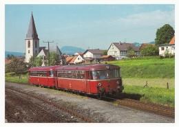 DB - Diesel-Schienenbus VT 789 602-9 (ex VT 98 9602) Als N 5826 Am Hbf. Echweisbach/Rhön - Trains