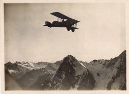 Aviation - Avion Armée Suisse - Avion Haefeli - Survol Eiger - 1919 - Aviation