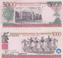 Rwanda - 5000 Francs 1998 AUNC Lemberg-Zp - Rwanda