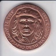 MONEDA DE CUBA DE 1 PESO DEL AÑO 2003 DEL CHE GUEVARA (COIN) SIN CIRCULAR-UNCIRCULATED - Cuba