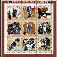 GUINEA - BISSAU 2001 OLYMPIC GAMES SYDNEY WINNERS - Estate 2000: Sydney
