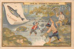 Chromo - Chocolat Des Gourmets - Café Des Gourmets - TREBUCIEN - Le Saumon - Tea & Coffee Manufacturers