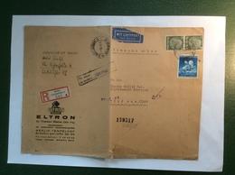 Deutsches Reich BERLIN LICHTERFELDE 1941 LUFTPOST Brief > IRAN (Russia Moscow Zensur Cover Censored WW2 Air Mail 1939-45 - Storia Postale