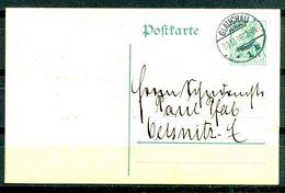 ALLEMAGNE - Ganzsache (Entier Postal) Michel P90 (GLAUCHAU Nach OELSNITZ) - Postwaardestukken