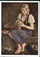 10607829 Verlag HDK Nr. HDK Nr. 215 W. Hempfing Maedchen Mit Kuechenstilleben - Schöne Künste