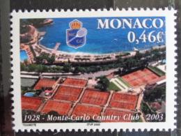 MONACO 2003 Y&T  N° 2390 ** - 75e ANNIV. DE MONTE CARLO COUNTRY CLUB - Monaco
