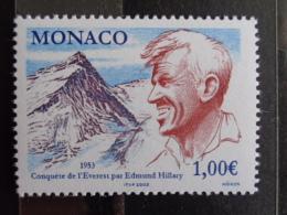 MONACO 2003 Y&T  N° 2414 ** - CINQUANTENAIRE DE LA CONQUETE DU MONT EVEREST PAR E. HILLARY - Unused Stamps