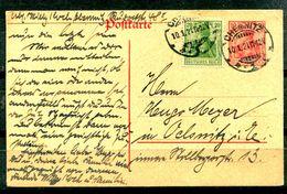 ALLEMAGNE - Ganzsache (Entier Postal) Michel P107 (CHEMNITZ Nach OELSNITZ) - Postwaardestukken