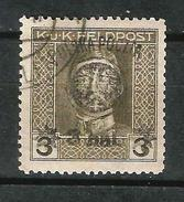 POLONIA 1919 GOBIERNO PROVISIONAL. SELLO DE AUSTRI-HUNGRIA DE 1917 SOBRECARGADO EN LUBLIN. USADO - ....-1919 Gobierno Provisional