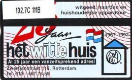 Telefoonkaart  LANDIS&GYR  NEDERLAND * RCZ.102.07C  111B * Witte Huis Rotterdam Zwartjanstraat *  TK * ONGEBRUIKT *  - Nederland