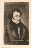 L150b037 - Portrait De Schubert - B.K.W.I N°642/2 - Música Y Músicos