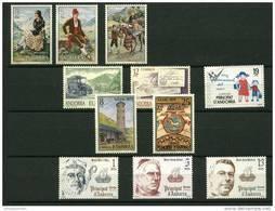 Andorra Española Año 1979 Completo Y Nuevo - Collections