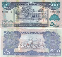 Somaliland - 500 Shillings 2011 UNC Lemberg-Zp - Somalia