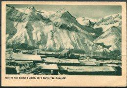 1948 Belgium Postcard. China Mongolia Mission - Belgium