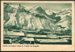1948 Belgium Postcard. China Mongolia Mission - Storia Postale