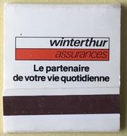 Pochette Allumettes De Marque WINTERTHUR - Other Collections