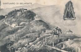T.667.  Santuario Di BELMONTE - 1908 - Altre Città