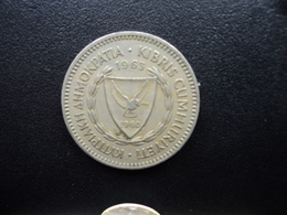 CHYPRE : 50 MILS  1963   KM 41   TTB - Chypre