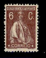 ! ! Portugal - 1924 Ceres 6 C - Af. 277 - MH - 1910-... Republik