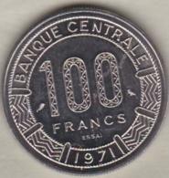 CONGO 100 FRANCS ESSAI 1971 KM# E1 - Congo (Republic 1960)