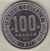 CAMEROUN 100 FRANCS ESSAI 1971 KM# E13 - Cameroon