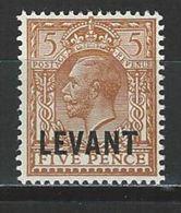 Brit. Levant SG L21, Mi 58 * - British Levant