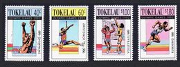 TOKELAU 1992 - JUEGOS OLIMPICOS DE BARCELONA'92 - YVERT Nº 184-187 - MICHEL 184-187 - SCOTT 178-181 - Tokelau