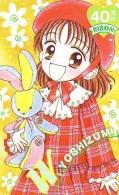 Télécarte Japon * 110-011 * MANGA - RIBON * WYOSHIZUMI  (16.073)  Japan Phonecard - Cine