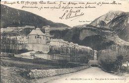 HAUTES ALPES - 05 - BRIANCON - Vue Prise De La Route De Grenoble - Briancon